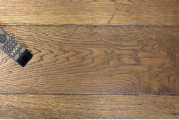Natural Engineered Flooring Oak Reclaim Brown UV Oiled 20/6mm By 180mm By 1900mm