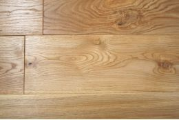 Natural Engineered Oak Click Brushed Oiled 14/3mm By 180mm By 400-1500mm