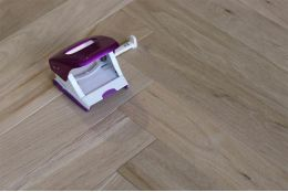 Prime Engineered Oak Herringbone Brushed Unfinished 15/4mm By 90mm By 600mm