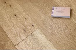Natural Engineered Oak Oiled 18/5mm By 150mm By 300-1500mm
