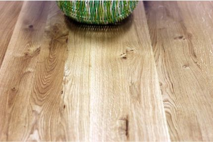 Full Stave Rustic Oak Worktop 32mm By 750mm By 3000mm