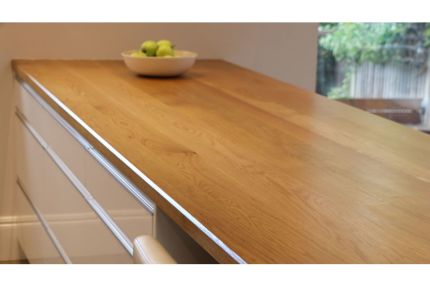 Full Stave Select Oak Worktop Elite 38mm By 620mm By 2950mm