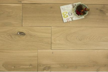 Natural Engineered Oak Brushed Unfinished 15/4mm By 150mm By 700-2200mm
