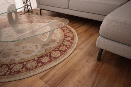 Natural Engineered Oak Click Dark Smoked Brushed UV Oiled 14/3mm By 190mm By 1900mm