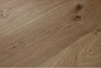 Natural Engineered Oak Non Visible UV Oiled 14/3mm By 190mm By 400-1500mm