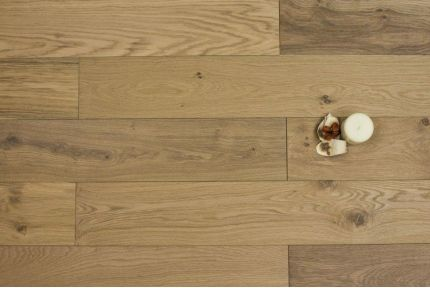 Rustic Solid Oak Country Vintage UV Oiled 20mm By 120mm By 300-1500mm