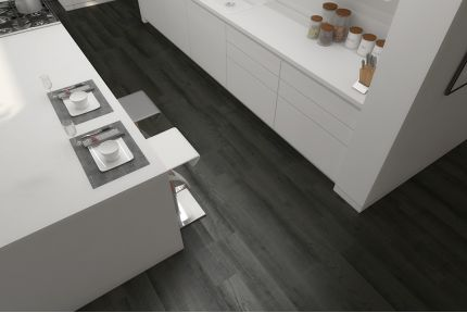 Select Engineered Flooring Oak Click Capochino Grey Brushed UV Lacquered 14/3mm By 190mm By 1900mm