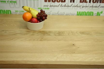Full Stave Select American Oak Worktop Elite 38mm By 750mm By 3000mm