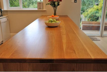 Full Stave Select Oak Worktop Elite 36mm By 750mm By 3000mm