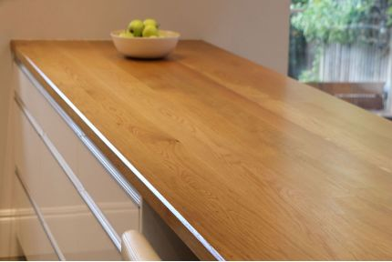 Full Stave Select Oak Worktop Elite 34mm By 750mm By 2500mm