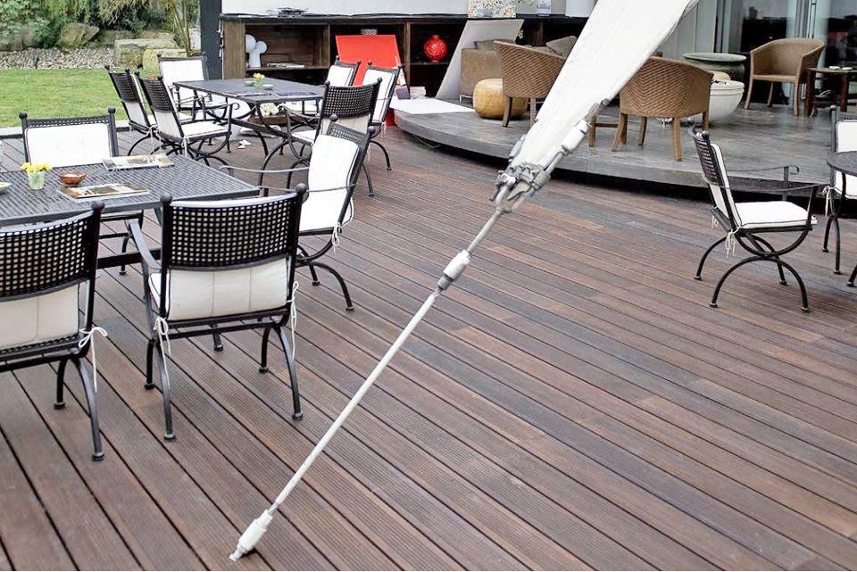 Moso Bamboo X Treme Ribbed Hardwood Decking Using Hidden