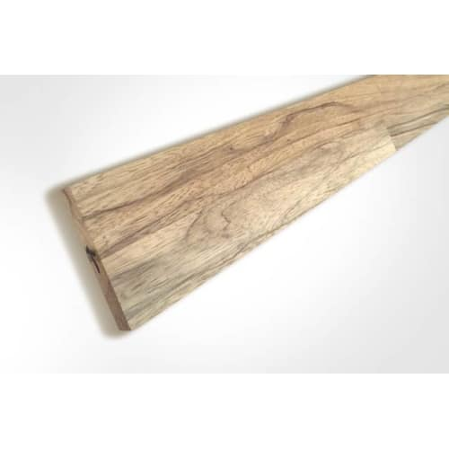 Premium Tiger Walnut Upstand 3M Unfinished 18mm By 80mm By 3000mm