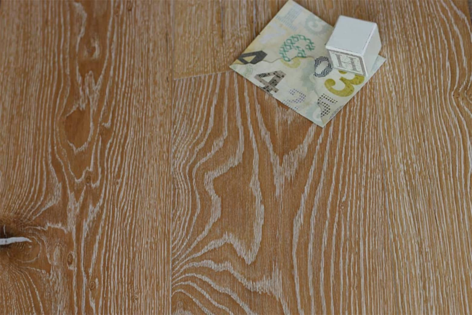 Natural Engineered Oak Canal Grande Brushed UV Oiled 14/3mm By 192mm By 2350mm