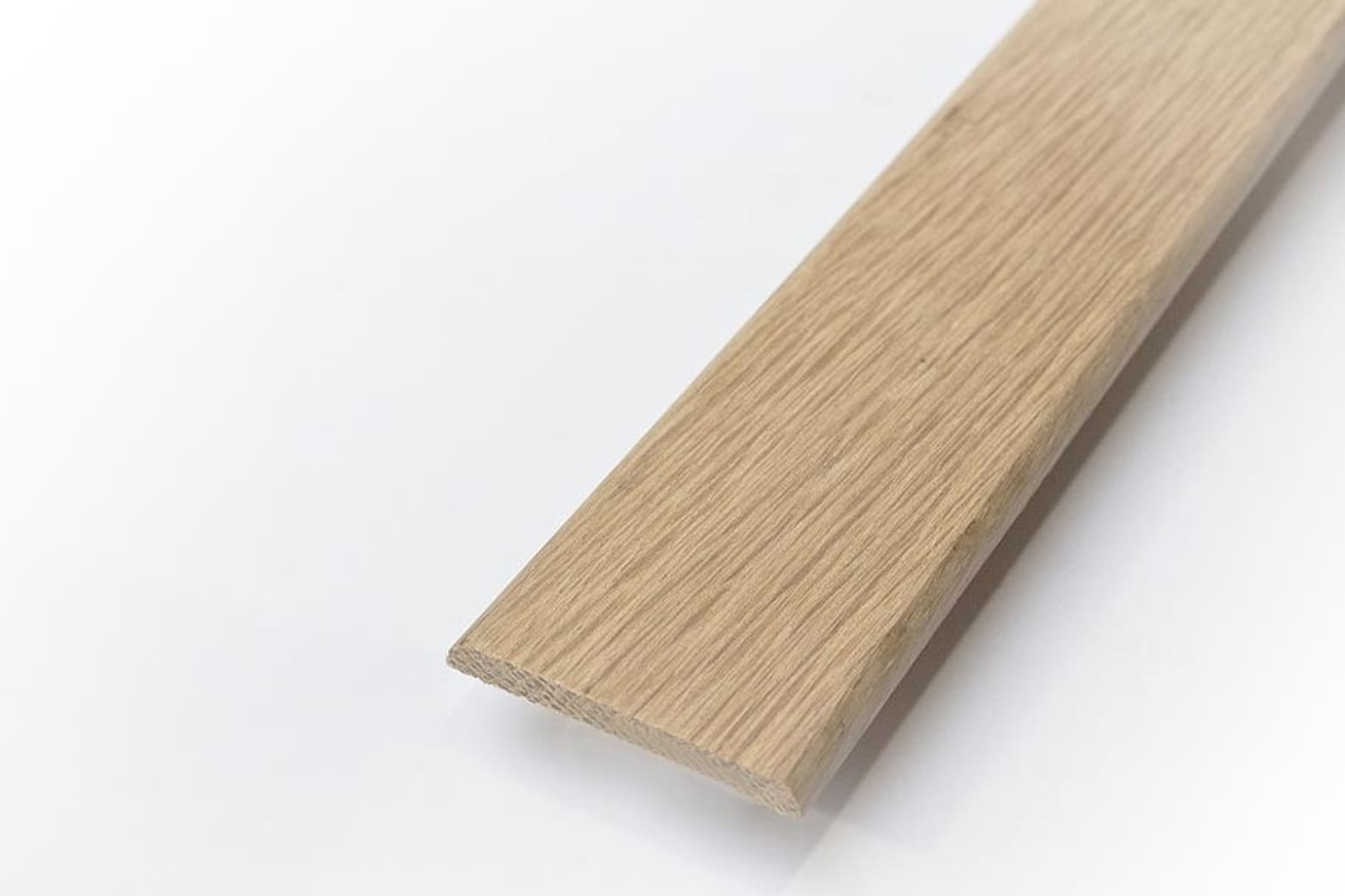 Solid Oak Flat Bar Unfinished 6mm By 44mm By 960mm