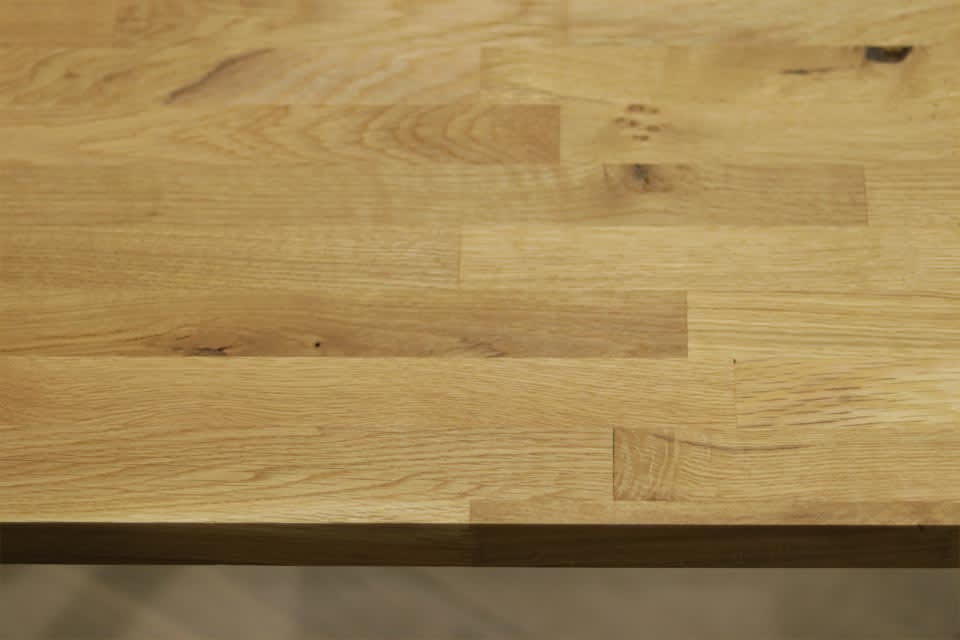 Rustic Oak Worktop 40mm By 620mm By 3000mm