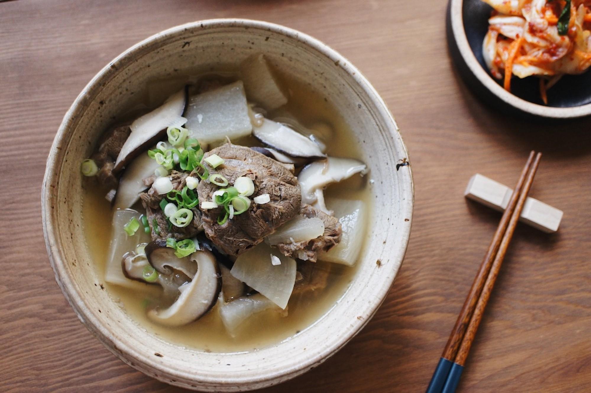 蘿蔔牛肉湯