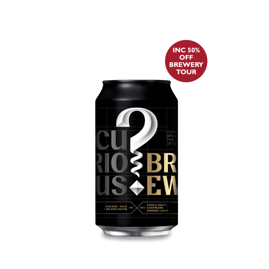 Curious Brew - Buy 20 Cans Get 4 Free