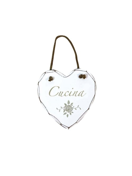 Angelica Home & Country cuore d'appendere Cucina