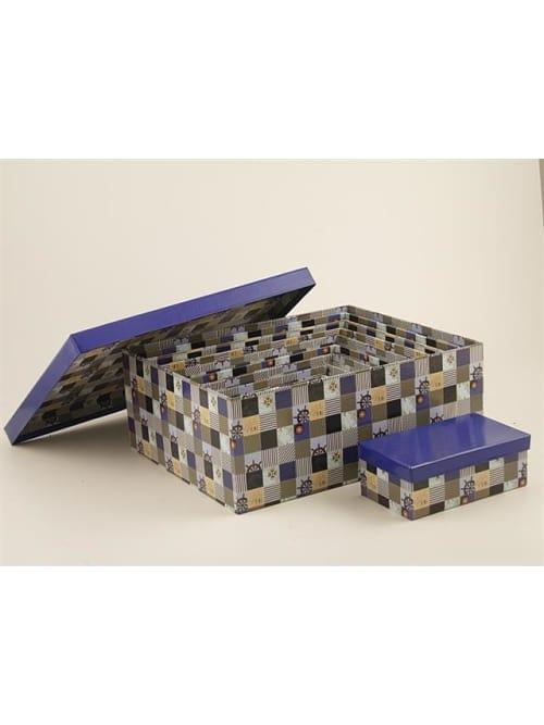 Disraeli scatola in cartone con fantasia marittima