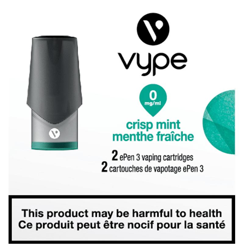 Vype ePen 3 Crisp Mint Cartridges (2pk)