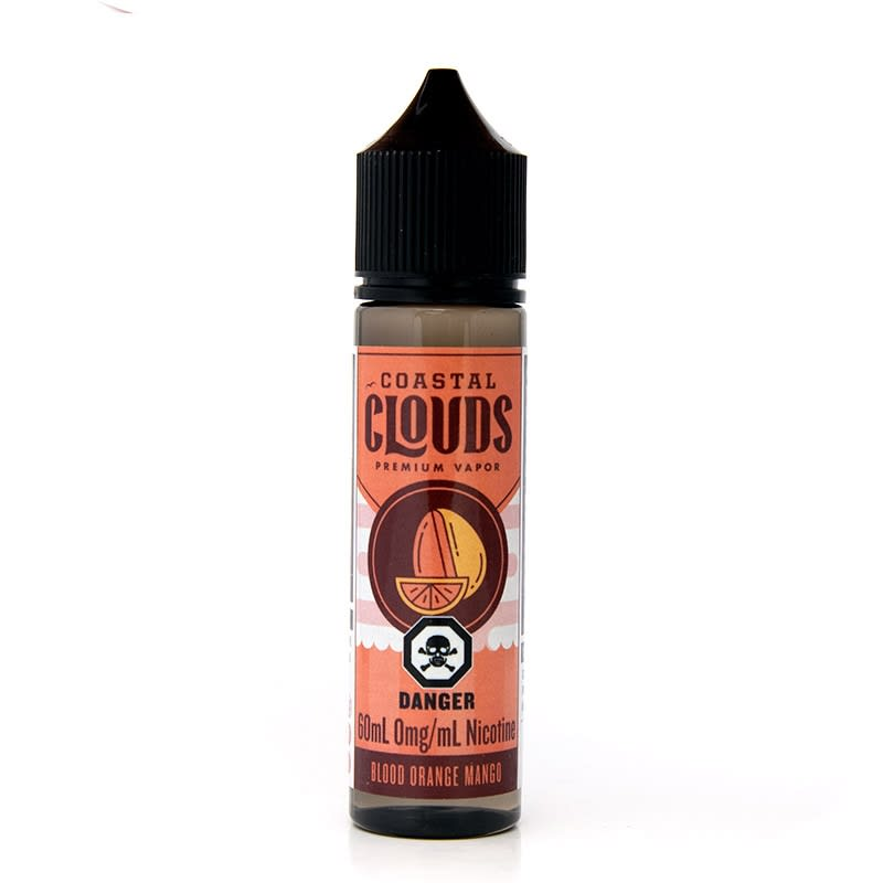 Blood Orange Mango E-Liquid by Coastal Clouds - 60mL