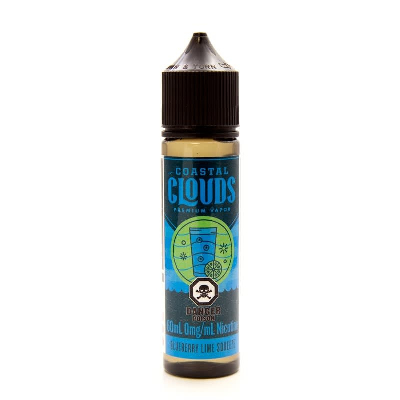 Blueberry Lime Squeeze E-Juice by Coastal Clouds - 60mL