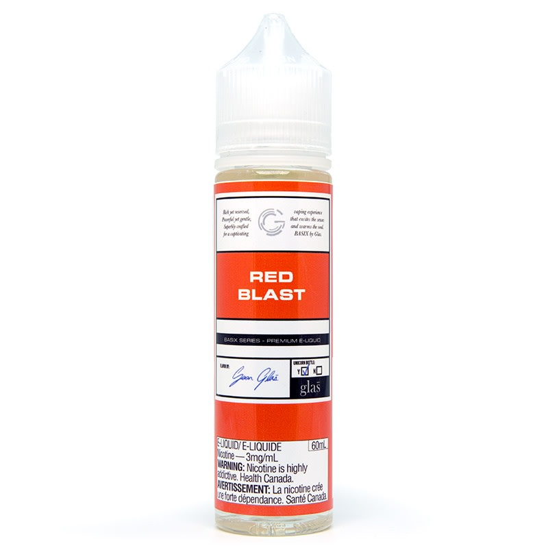 Red Blast E-Juice by Glas Basix Series (60mL)