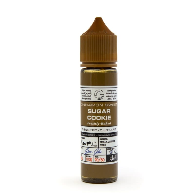 E-Juice by Glas Basix Series (60mL) - Sugar Cookie