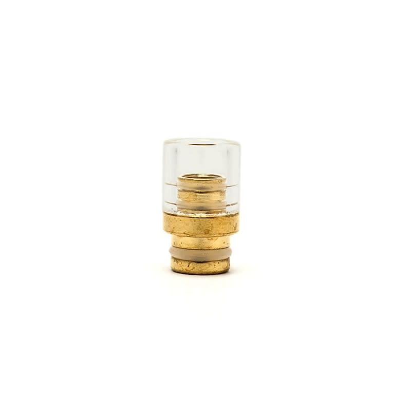 Pyrex Glass and Brass Drip Tip