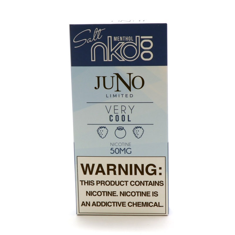 Juno Pods: Naked 100 Salt - Very Cool (4pk)