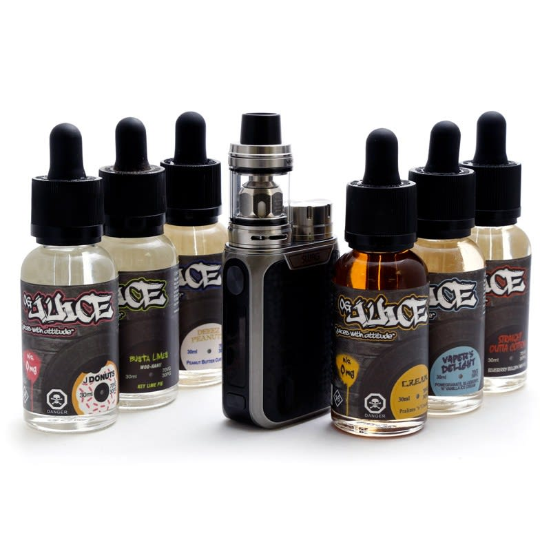 OG Juice 180mL E-Liquid & Vaporesso SWAG Kit Bundle