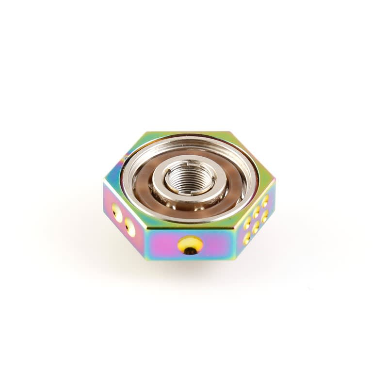 510 Mounted Vape Spinner - RAINBOW