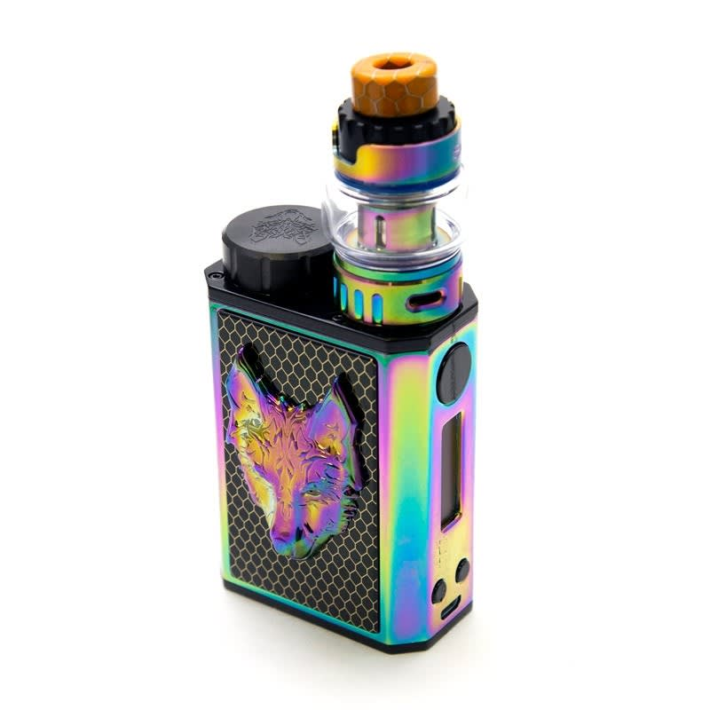 Sigelei SnowWolf Mini 100W TC Kit - Black/Rainbow