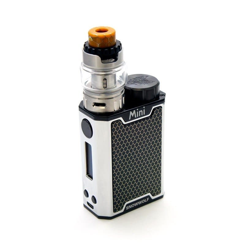 Sigelei SnowWolf Mini 100W TC Kit - Black/Silver