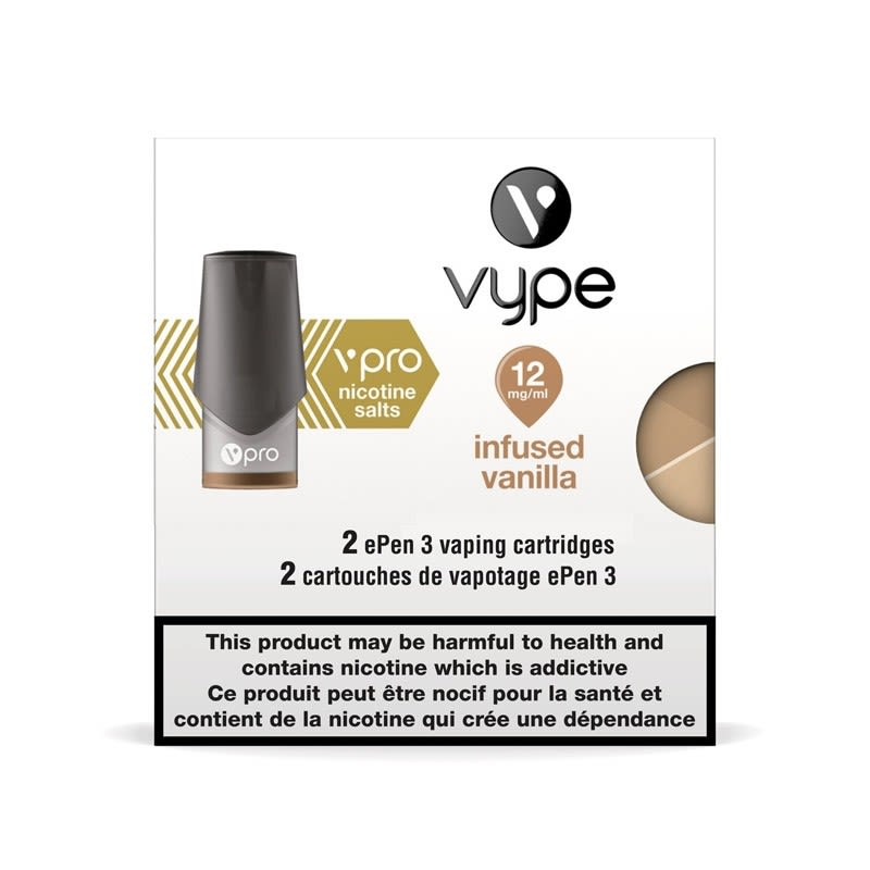 Vype ePen 3 vPro Infused Vanilla Cartridges 2pk