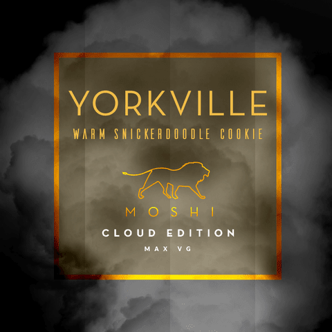 Yorkville E-liquid by Moshi - 30 ml