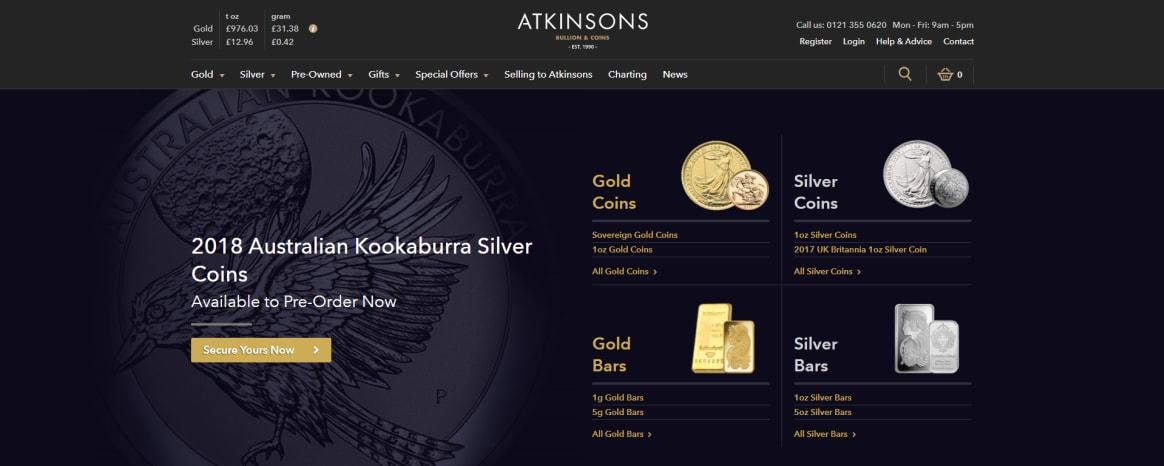 Atkinsons Bullion