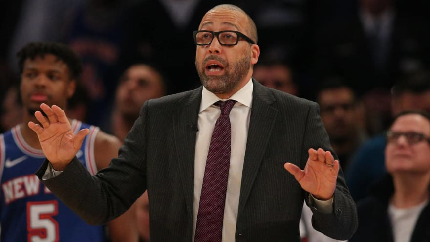 David Fizdale's job is safe due to Knicks' lack of trust in assistant coaches?