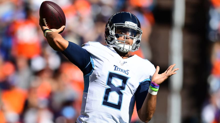 Report: Marcus Mariota, Jameis Winston 'likely' done as 'franchise leaders'