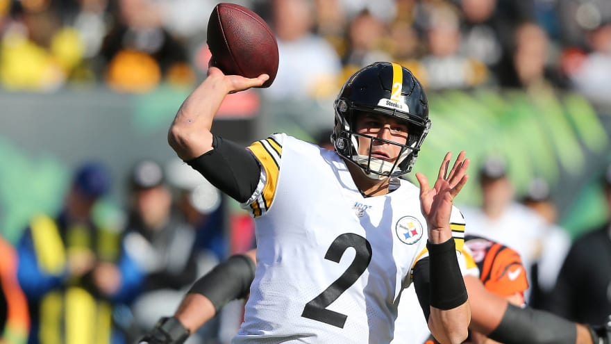 Steelers Bench Qb Mason Rudolph In Third Quarter Against