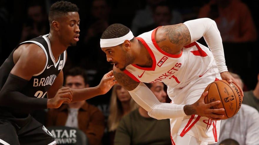 'Blackballed'? Please. Here's why Carmelo Anthony has no place in NBA.