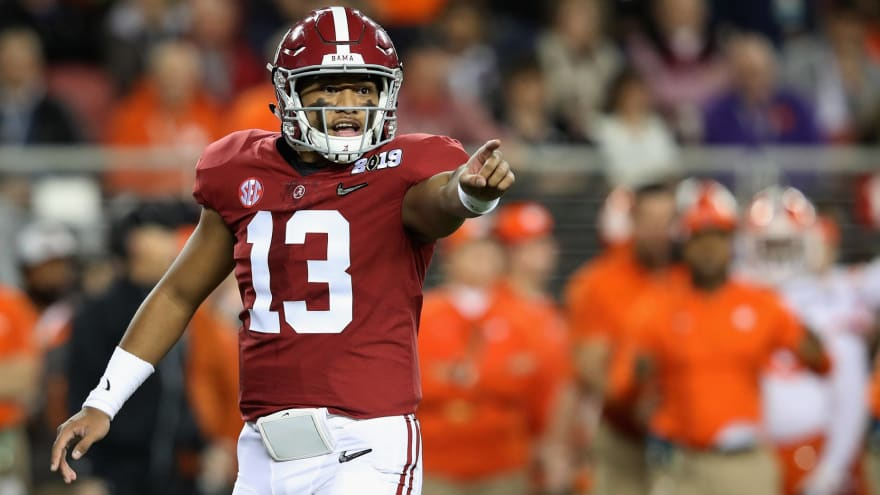 Yardbarker's super-early 2020 NFL first-round mock draft