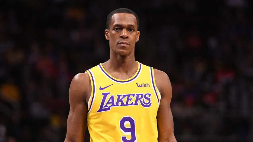 competitive price 77bb9 260fd Rajon Rondo wants to return to the Lakers, per report ...