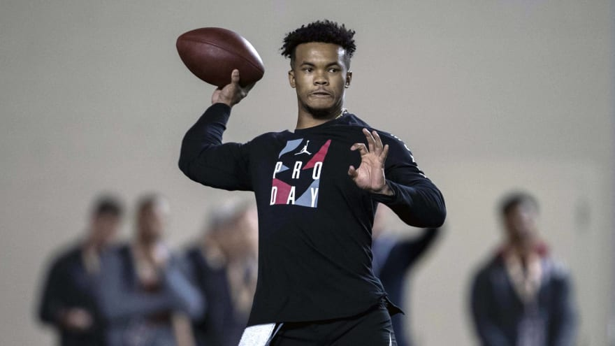 Report: Raiders to have private workouts with Kyler Murray, Dwayne Haskins