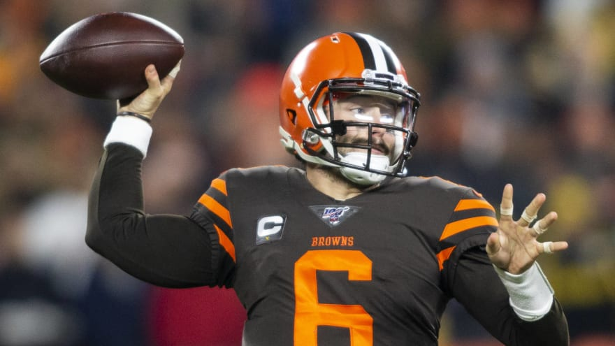 Browns QB Baker Mayfield says he regrets being 'laid back' at beginning of season