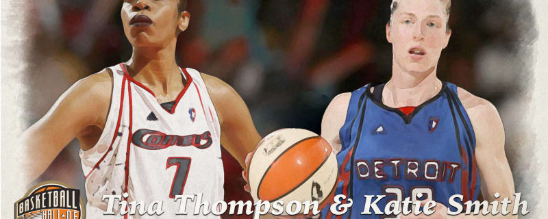 huge discount 2353f d97ff Tina Thompson and Katie Smith were the foundation for WNBA greatness