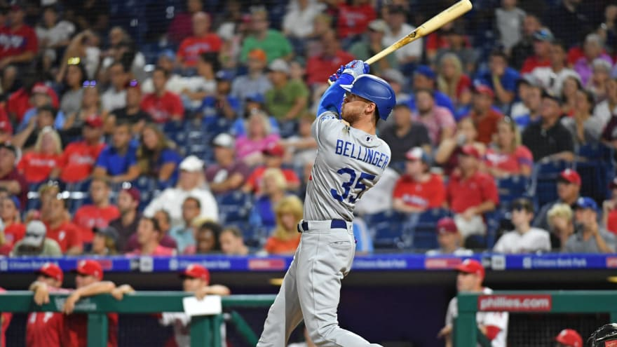 Cody Bellinger credits Red Bull and Advil for two-homer game