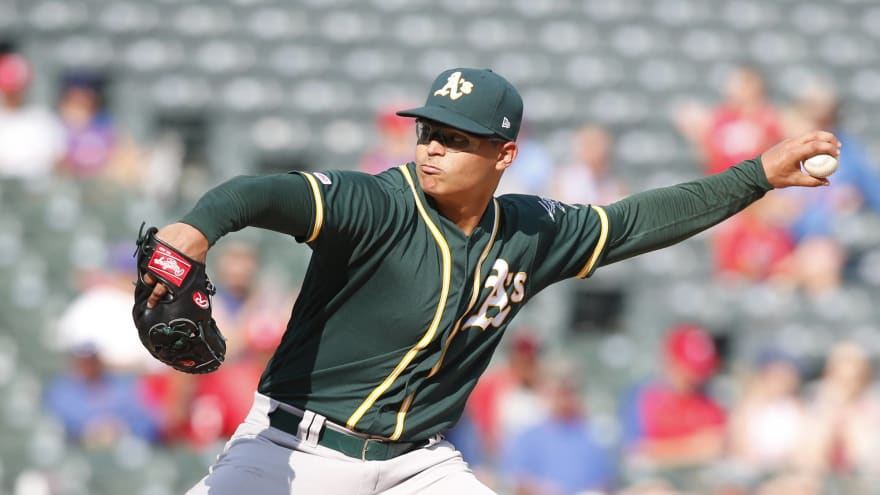 Jesús Luzardo could be big boost in the postseason for the A's
