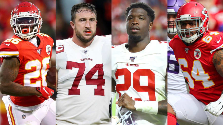6 for LIV: Unsung contributors for Chiefs, 49ers