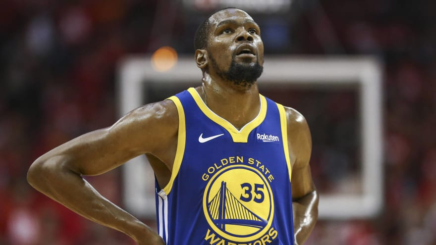 c53e068e249b Warriors rule Kevin Durant out for Games 3-4 of Western Conference Finals